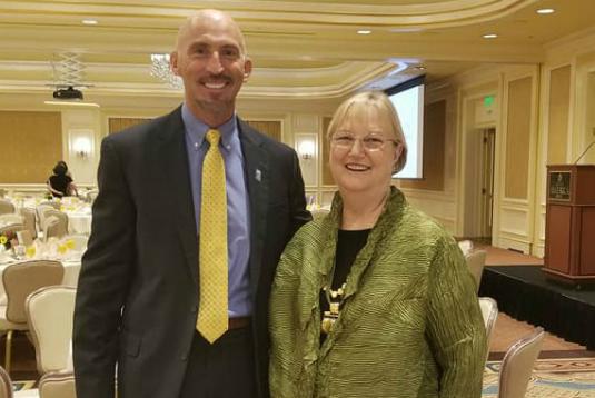 Stewart Ralphs & Justice Christine Durham