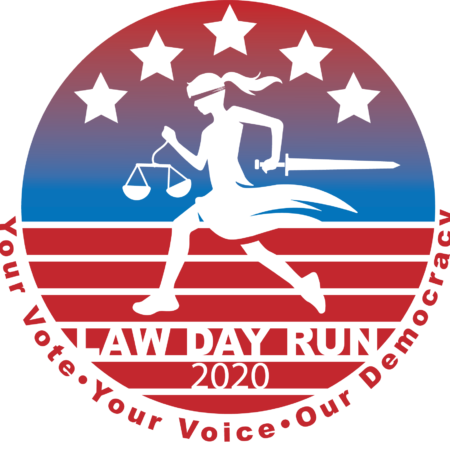 2020 Law Day Run Logo